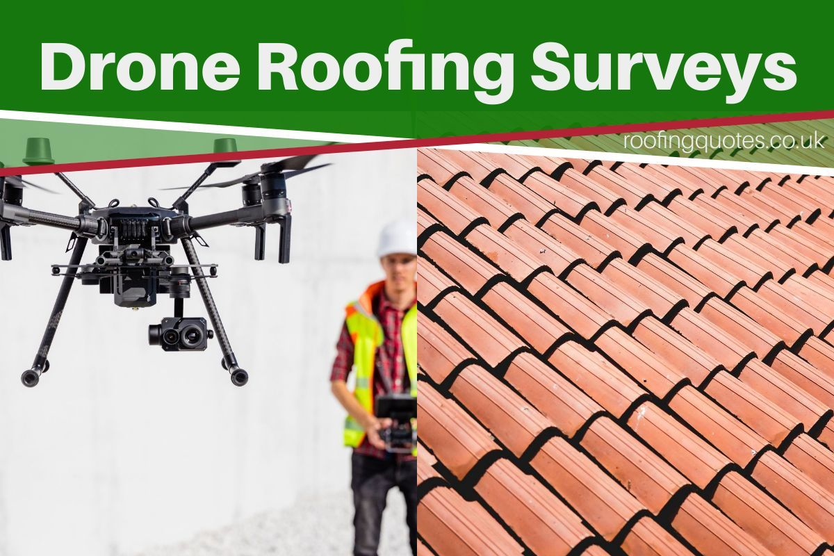 drone roofing surveys Leigh